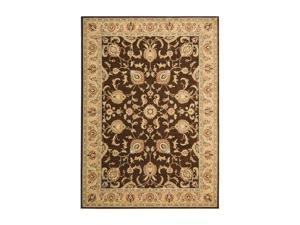 "Shaw Living Arabesque Coventry Area Rug Cocoa 3' 6"" x 5' 6"" 3K06700700"