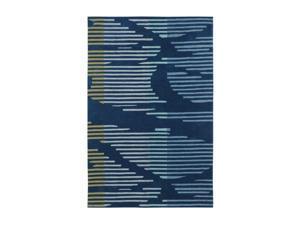 "Shaw Living Loft Neo Area Rug Blue 5' x 7' 6"" 3K08901400"