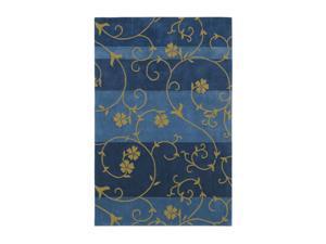 "Shaw Living Loft Nena Area Rug Blue 5' x 7' 6"" 3K08907400"
