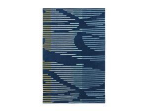 Shaw Living Loft Neo Area Rug Blue 9' x 13' 3K09101400