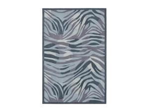 Shaw Living Loft Midnight Savanna Area Rug Grey 9' x 13' 3K09109510