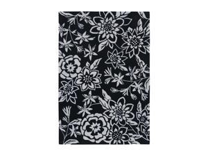 Shaw Living Loft Lillian Area Rug Black 9' x 13' 3K09115500