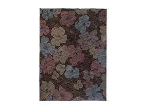 "Shaw Living Modernworks Karina Area Rug Dark Brown 5' 5"" x 7' 9"" 3V54713720"