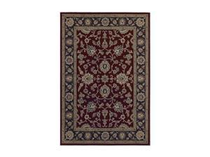 "Shaw Living Concepts Casanova Area Rug Red 3' 11"" x 5' 3"" 3V73105800"