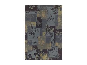 "Shaw Living Concepts Idyll Area Rug Blue 3' 11"" x 5' 3"" 3V73107400"