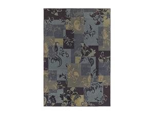"Shaw Living Concepts Idyll Area Rug Blue 7' 9"" x 10' 10"" 3V73307400"