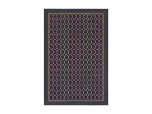 "Shaw Living Woven Expressions Gold Soho Area Rug Ruby 3' 11"" x 5' 3"" 3VA6918805"