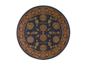 "Shaw Living Antiquities Kashmar Area Rug Ebony 5' 4"" Round 3X66274500"