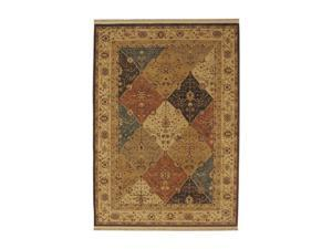 "Shaw Living Kathy Ireland Home Essentials Diamantes Area Rug Light Multi 3' 10"" x 5' 7"" 3X72228110"