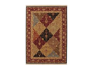 "Shaw Living Kathy Ireland Home Essentials Diamantes Area Rug Multi 3' 10"" x 5' 7"" 3X72228440"