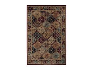 """Shaw Living Accents Mayfield Area Rug Multi 1' 11"""" x 7' 6"""" 3X80817440"""