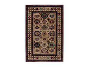 "Shaw Living Accents El Paso Area Rug Natural 5' 3"" x 7' 10"" 3X81011100"