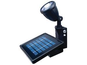 Maxsa 40334 Solar LED Flag Light - Black