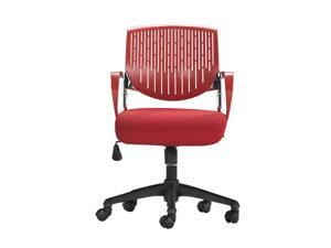 Zuo Modern 205309 Synergy Office Chair Red