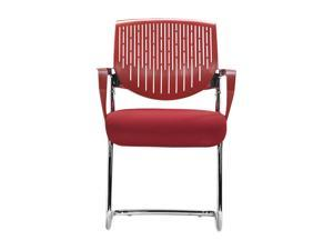 Zuo Modern Synergy Sled Synergy Sled Conference Chair Red