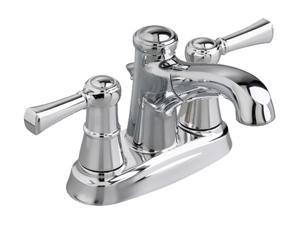 "American Standard 7084F 4"" Centerset Outreach 4"" Dual Control Pull-out Bath Faucet w/ Drain Polished Chrome"
