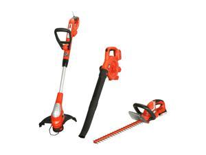 Black & Decker 20V Max Lithium Ion Combo Kit - Trimmer, Sweeper, Hedge