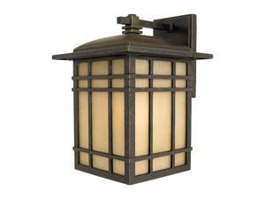 Quoizel HC8409IB Hillcrest Medium Outdoor Wall Lantern