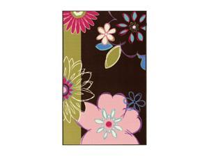 "DALYN 4-EVER YOUNG Rug Chocolate 4'5""X6'9"" FV4CH5X7"