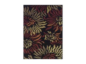"DALYN CARLISLE Rug Black 4'11"" x 7' CR20BK5X7"