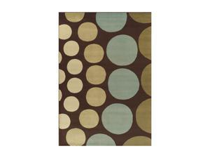 "DALYN CARLISLE Rug Chocolate 4'11""x7' CR60CH5X7"