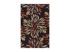 "DALYN MONTEREY Rug Black 22"" x 7' MR305BK2X7"
