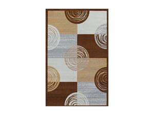 "DALYN MONTEREY Rug Chocolate 4' 11"" x 7' MR313CH5X7"