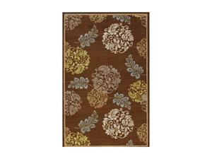 "DALYN MONTEREY Rug Chocolate 3' 3"" x 5' MR314CH3X5"