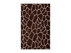 "DALYN SAFARI Rug Chocolate 3' 6"" x 5' 6"" SI4CH4X6"