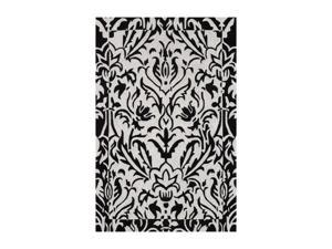 "DALYN STUDIO Rug Black 3' 6"" x 5' 6"" SD23BK4X6"