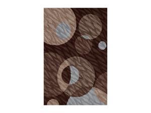 "DALYN STUDIO Rug Chocolate 3' 6"" x 5' 6"" SD24CH4X6"