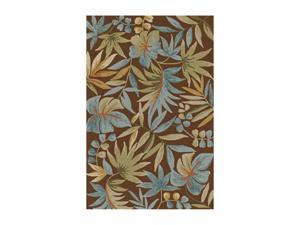 "DALYN Terrace Rug Chocolate 3' 6"" x 5' 6"" TE4CH4X6"