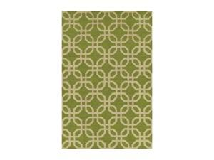 DALYN Terrace Rug Lime 8' Round TE8LI8RO