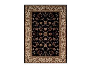 "DALYN IMPERIAL Rug Black 3' 7"" x 5' 6"" IP531BK4X6"