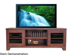 "Turnda Galloway GL4464A Transitional 64"" Dark Walnut TV Console"