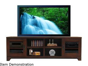 "Turnda Galloway GL4476A Transitional 76"" Dark Walnut TV Console"
