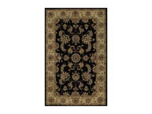 "DALYN JEWEL Rug Black 9' 6"" x 13' 6"" JW1787BK10X14"
