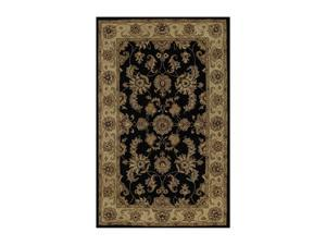 "DALYN JEWEL Rug Black 3' 6"" x 5' 6"" JW1787BK4X6"
