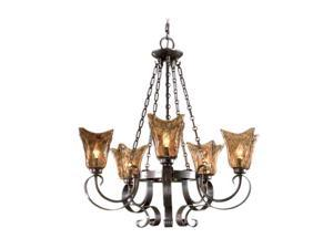 Uttermost Vetraio 5 Light Chandelier Oil-rubbed bronze 21007