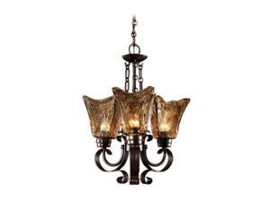 Uttermost Vetraio 3 light Chandelier Oil-rubbed bronze 21008