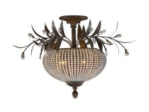 Uttermost  Cristal de Lisbon  Semi Flush Mount  Clear