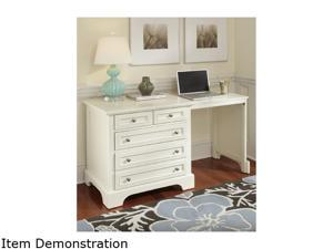 Home Styles 5530-93 Naples Expand-a-Desk White Finish