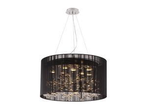 Zuo Modern Symmetry Ceiling Lamp Black 50085