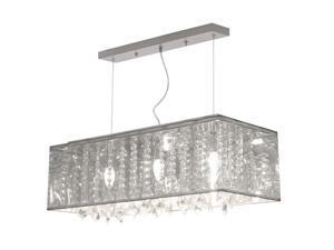 Zuo Modern Blast Ceiling Lamp Clear 50093