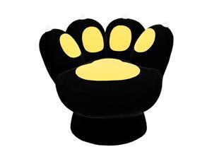 LumiSource CHR-PAW LP Paw Chair Leopard Brown