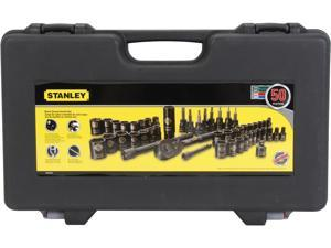 Stanley STMT71649 50PC BLACK CHROME SOCKET SET