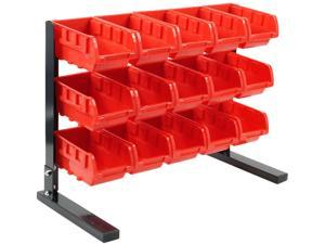 Trademark 75-5186 Bench Top Parts Rack - 15 pieces