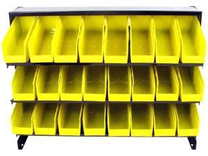 Trademark 75-24BIN 24 Bin Parts Storage Rack Trays