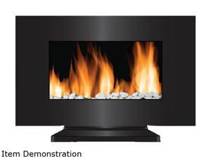 Frigidaire VWF-10305 Vienna 2-in-1 Wall Hanging & Floor Standing LED Fireplace with Color-Changing Flame