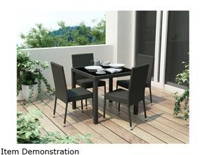 Sonax Park Terrace 5 Piece Patio Dining Set